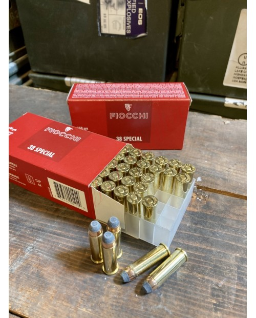 Fiocchi .38 Special158 grs Soft Point Bullet