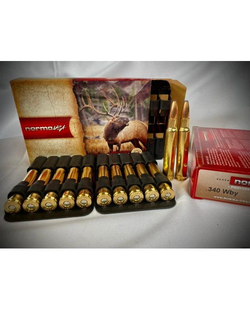 Norma USA .340 Wby 230gr Oryx 20 Cartriges