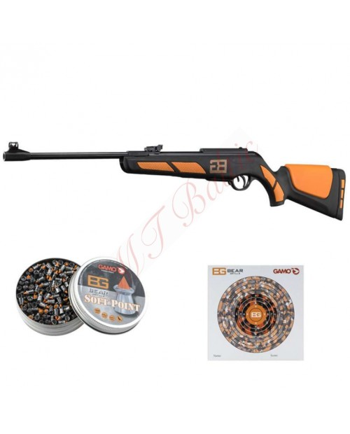 Gamo air gun Adventure Survival Set BG +1 Tin SP+50 PT, Cal. 4.5, power 24J