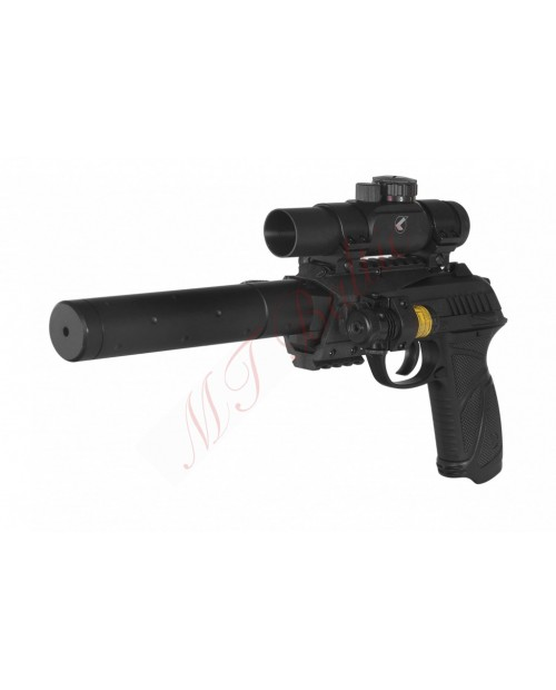 Pistoletas GAMO PT-85 BLOWBACK TACTICAL, kal. 4.5