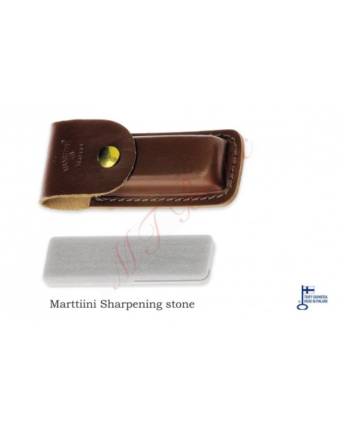 Marttiini A Sharpening stone with leather sheath