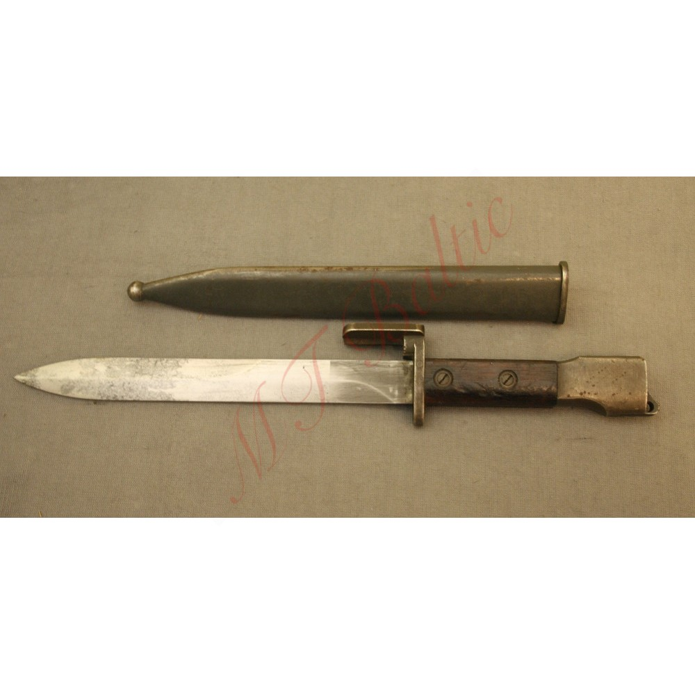 Belgian production bayonet for FN FAL carbine, with Wood