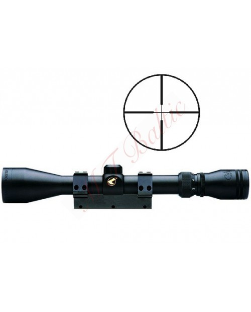 GAMO 3-9x40 illuminated reticle scope